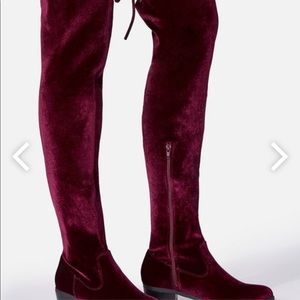 Size 10 WC Burgundy boots